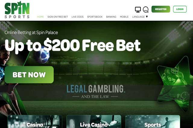 Spin palace sports 214711