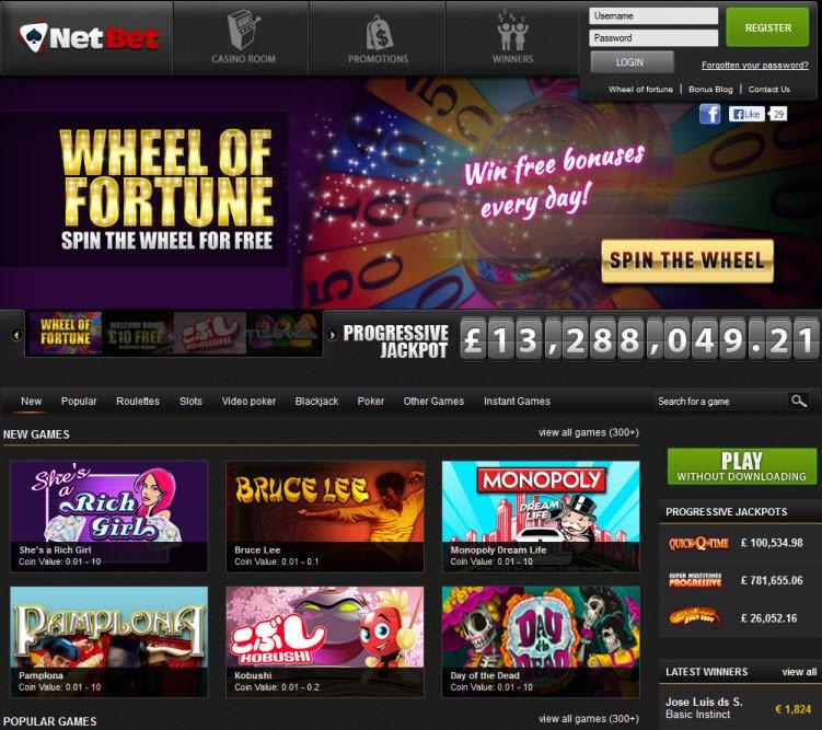 Sorte online netbet casino 255974