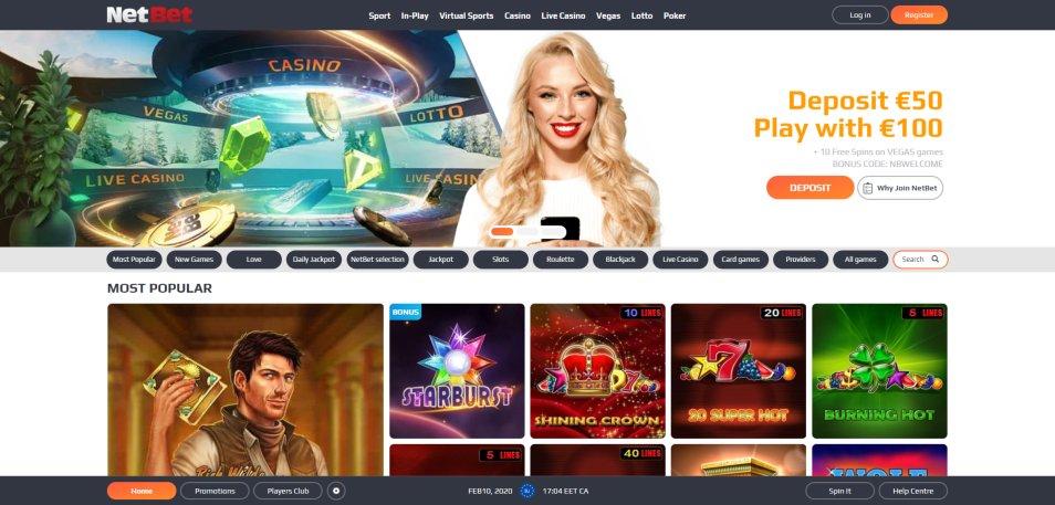 Bonus casino netbet grandes 558372