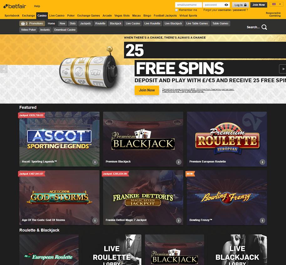 Free spins betfair 603800