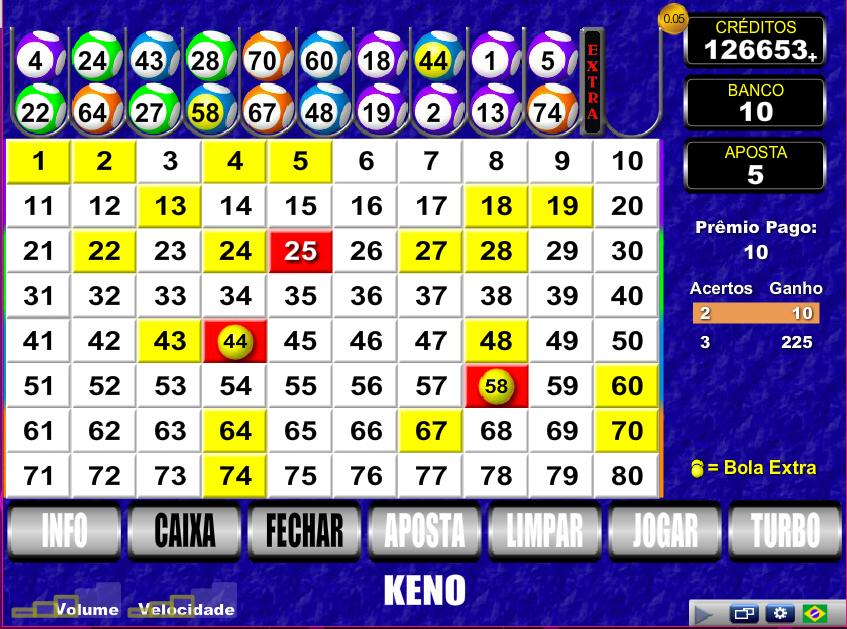 Rapid bingo keno pirates 461002