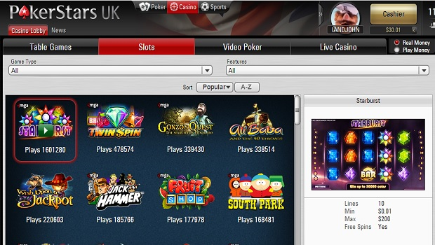 Faturamento casino pokerstar 145698