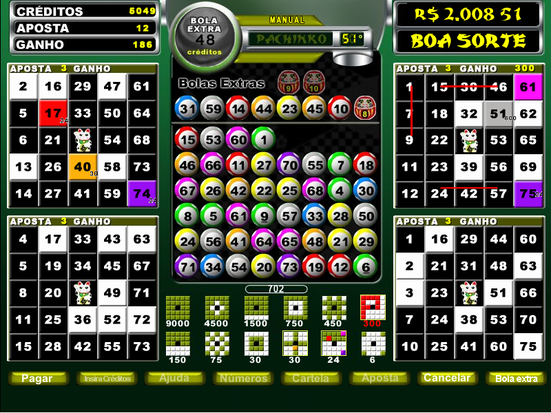 Video bingo 457008