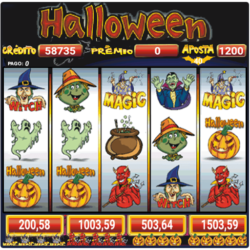 Halloween caça níquel 606459