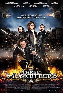 The three musketeers jogadores 492433