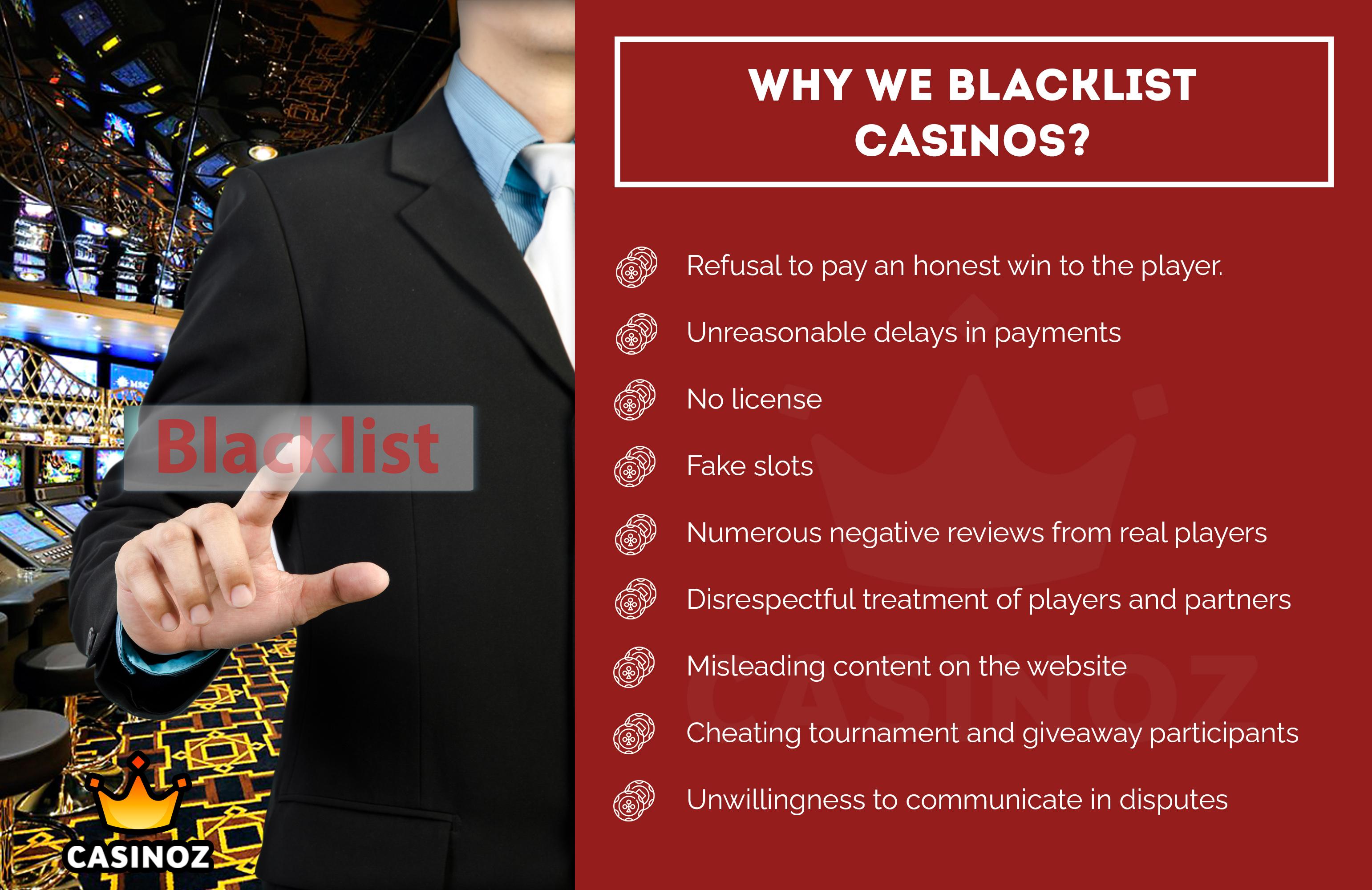 Blacklisted casinos cassino online 302902
