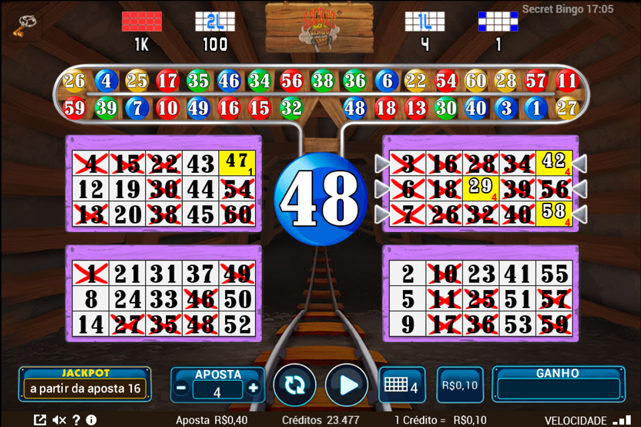 Buffalo vídeo bingo 347976
