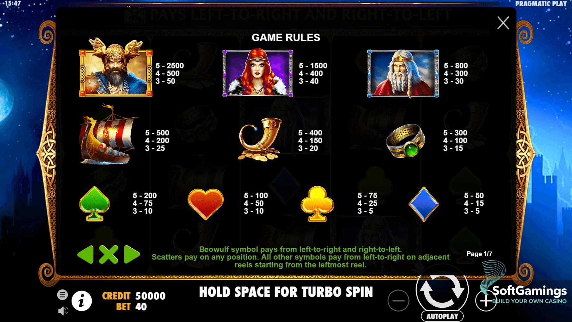Casino online beowulf 541117