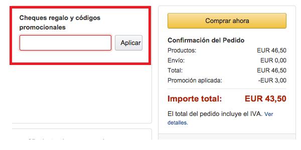 Codigo promocional amazon as 653115