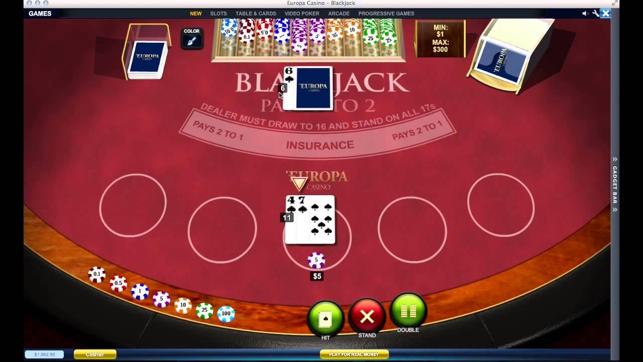 Como jogar blackjack video 306889