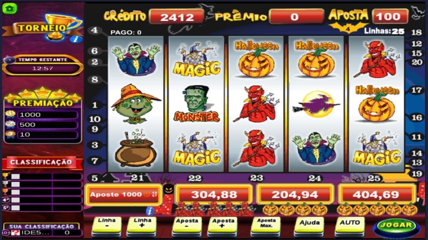 Halloween caça níquel profissional 200994