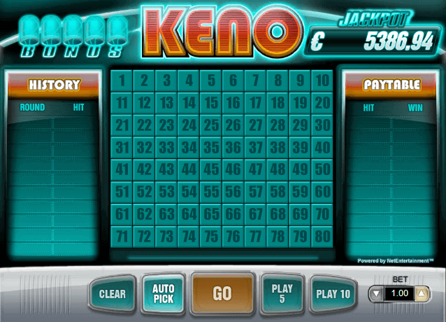 Jackpot keno betfair Roku 228784