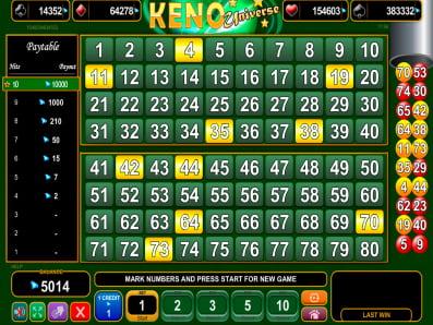 Jackpot keno 181420