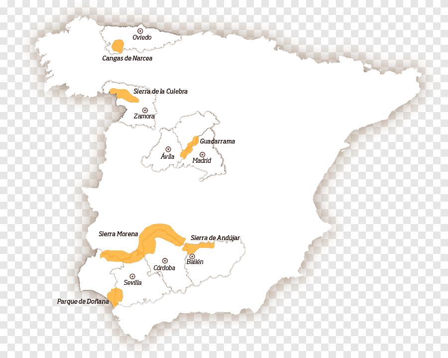 Mapa da Espanha 652212