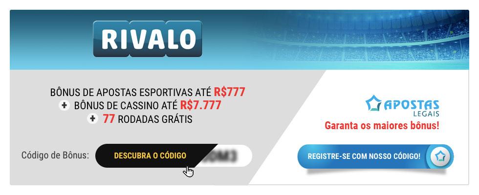 Rivalo cupom 123999