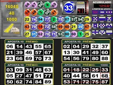 Vídeo bingo slot caça 338534